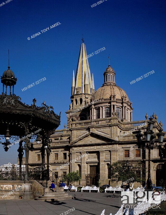 Stock Photo: Mexico. Guadalajara Cathedral.