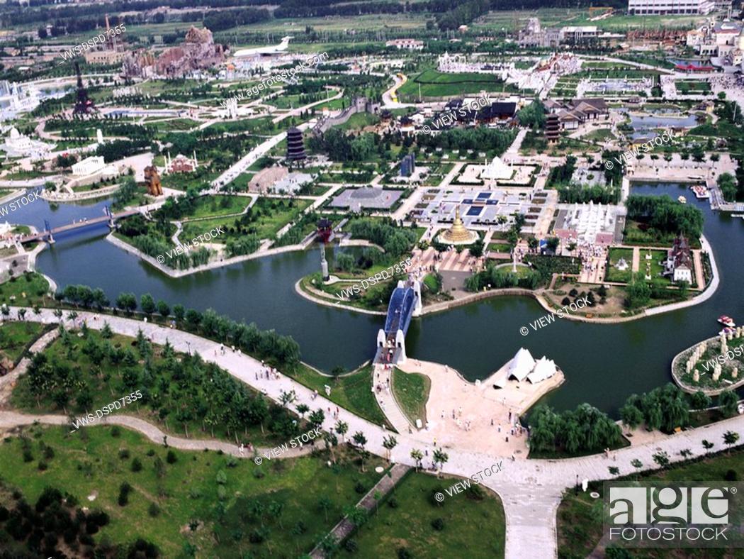 Stock Photo: World Park,Beijing,China.
