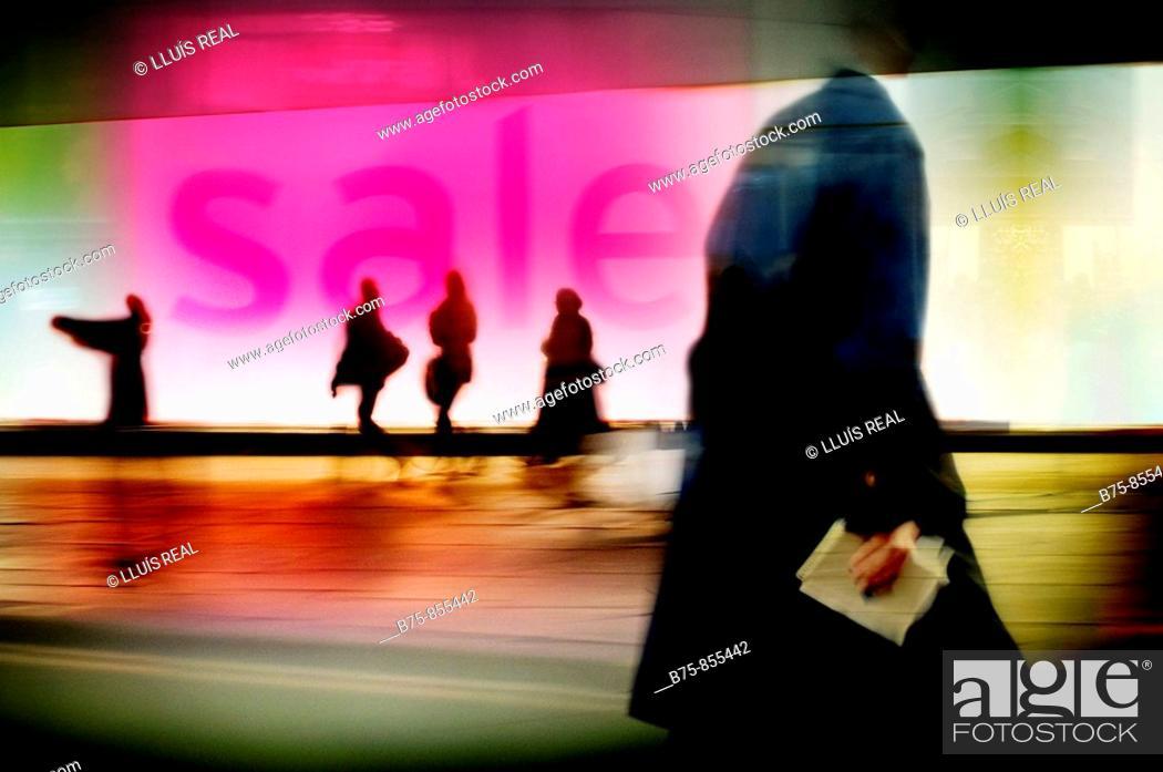 Stock Photo: Sales, London, UK.