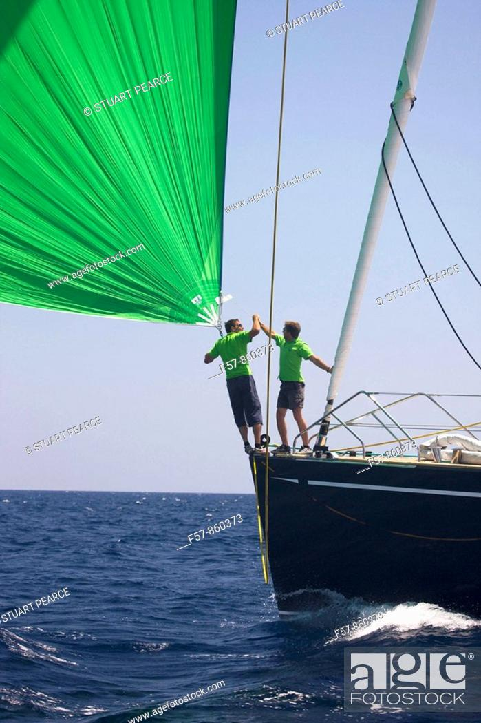 Stock Photo: The Super Yacht Cup, Palma de Mallorca, Spain.