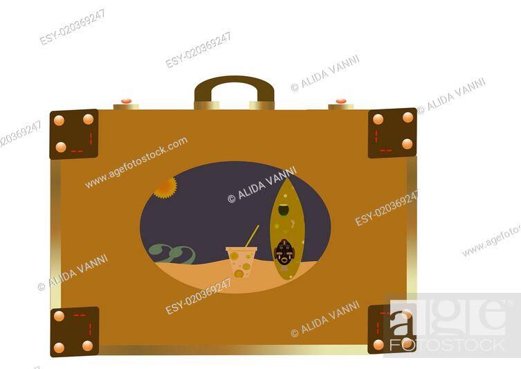 Stock Photo: suitcase.