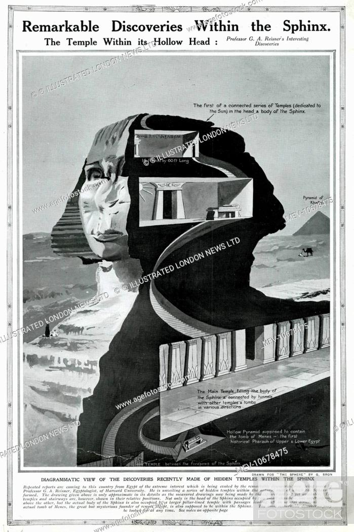 Remarkable discoveries within the Sphinx: the temple within