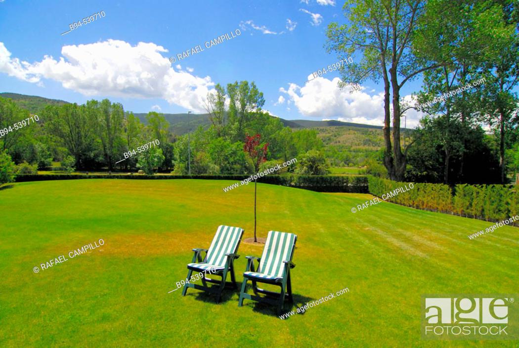 Stock Photo: Countryside. Cerdanya. France.