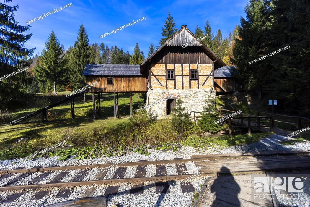 Stock Photo: Museum of Kysuce village, Zilina region, Slovakia.