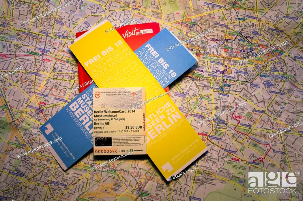 Berlin Berlin Welcome Card Welcomecard Map Ticket Voucher