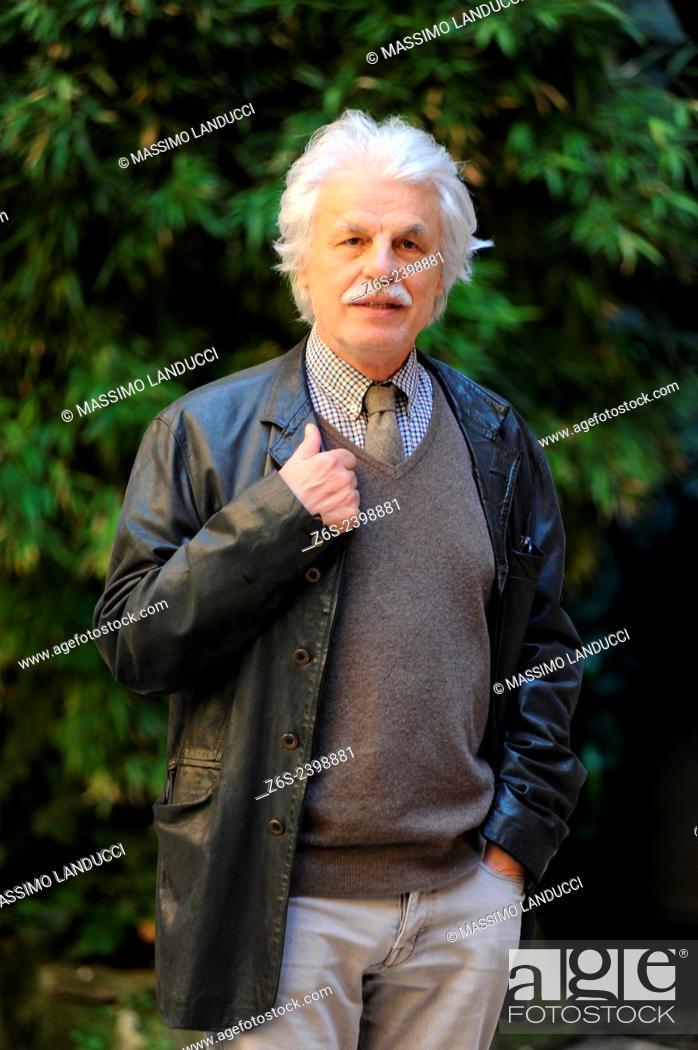 Stock Photo: Michele Placido; Placido; actor and director; celebrities; 2015;rome; italy;event; photocall; la scelta.