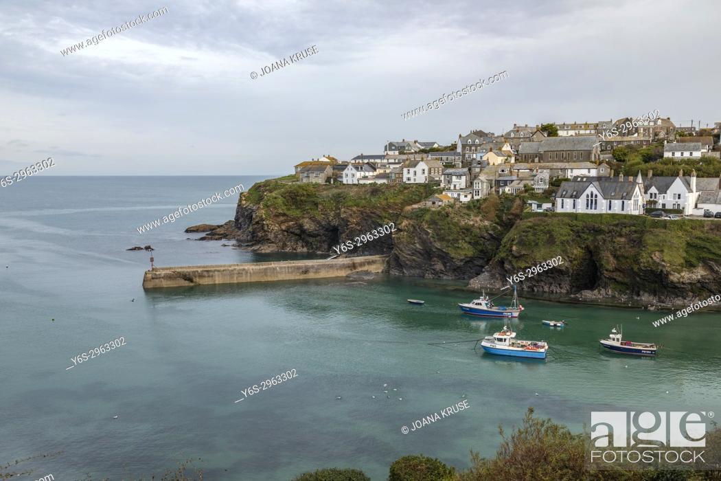 Stock Photo: Port Isaac, Cornwall, England, United Kingdom.