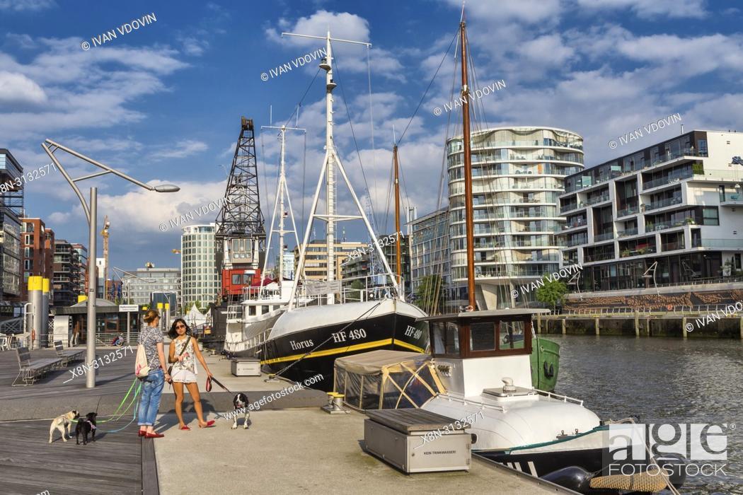 Stock Photo: Speicherstadt, City of Warehouses, Hamburg, Germany.