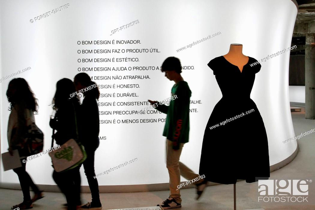 Temporary Exhibition At The Mude Museum Of Design And Fashion Museu Do Design E Da Moda Stock Photo Picture And Rights Managed Image Pic Gpt Ptxx0703 Agefotostock