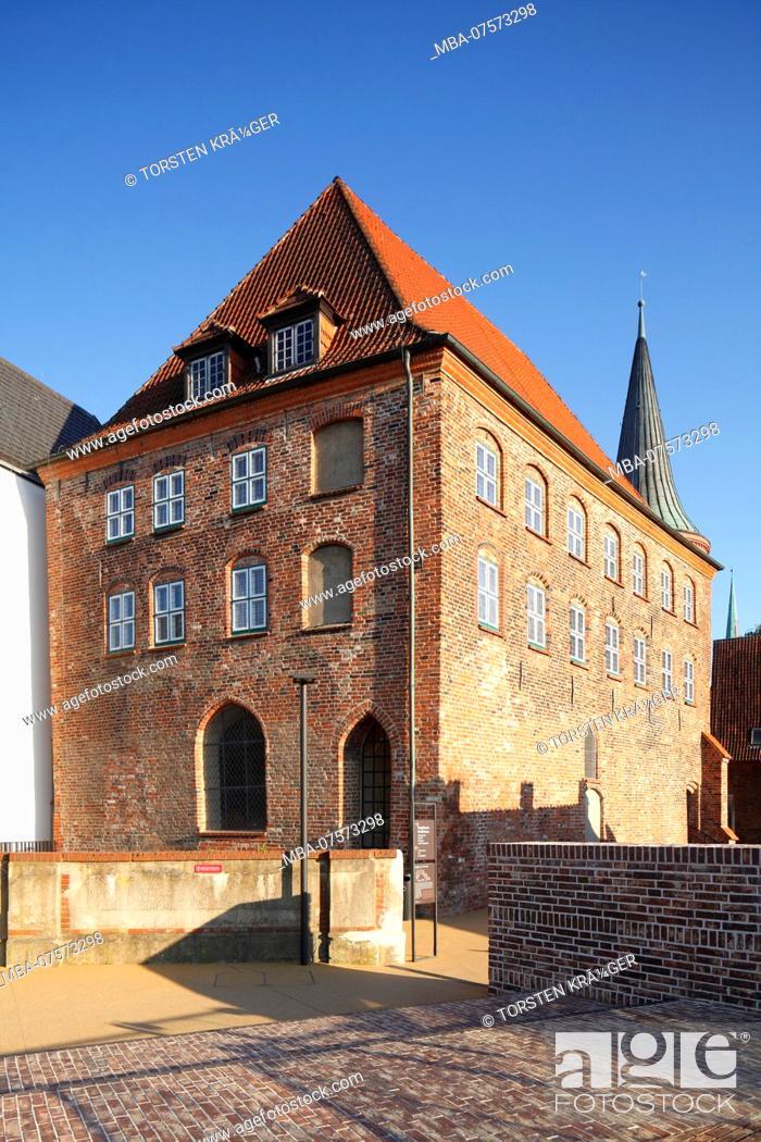 Stock Photo: European Hansemuseum, Lübeck, Schleswig-Holstein, Germany, Europe.
