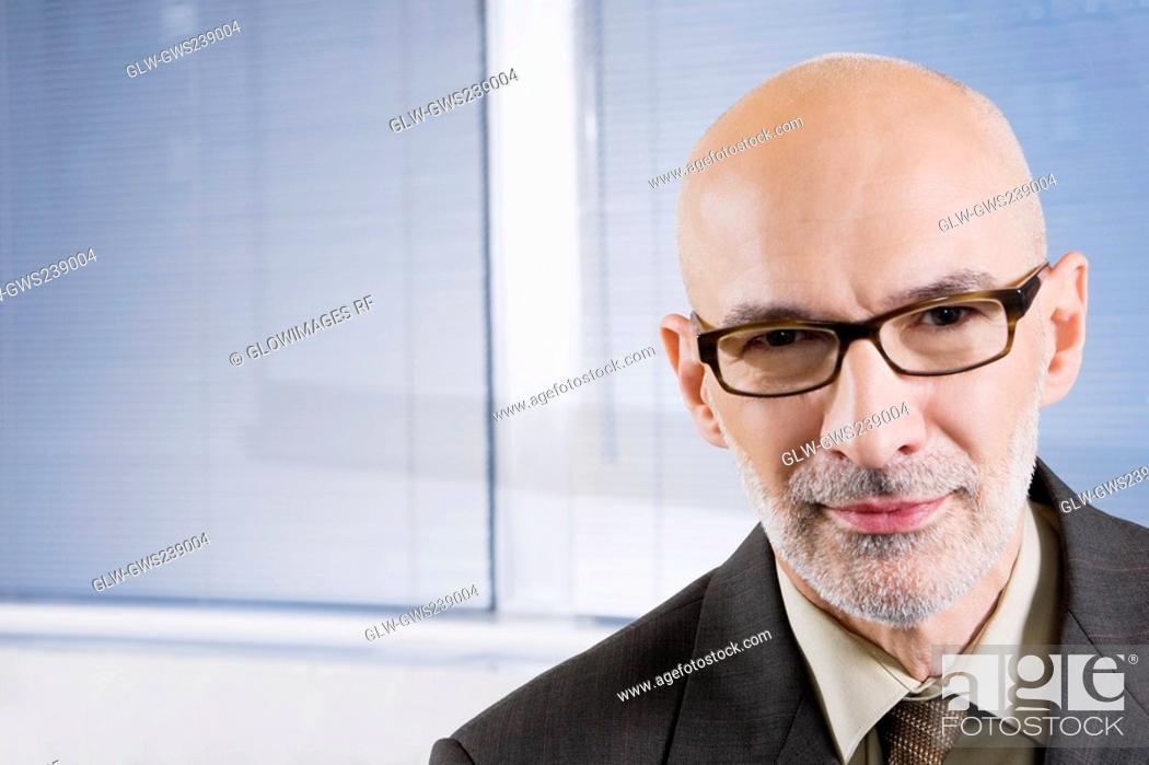 Stock Photo: Portrait of a businessman.