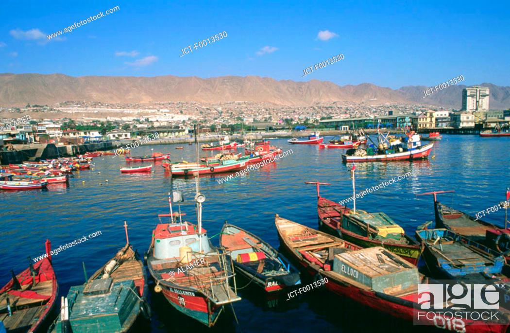 Stock Photo: Chile, Antofagasta.