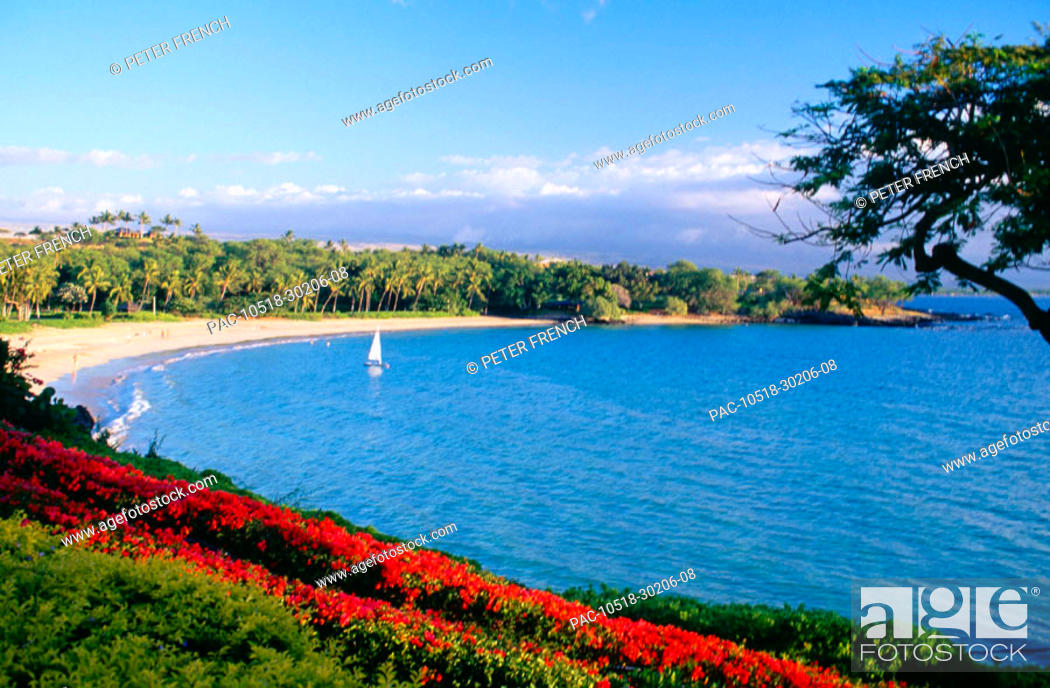 Hawaii Big Island Mauna Kea Beach Resort Overview Of