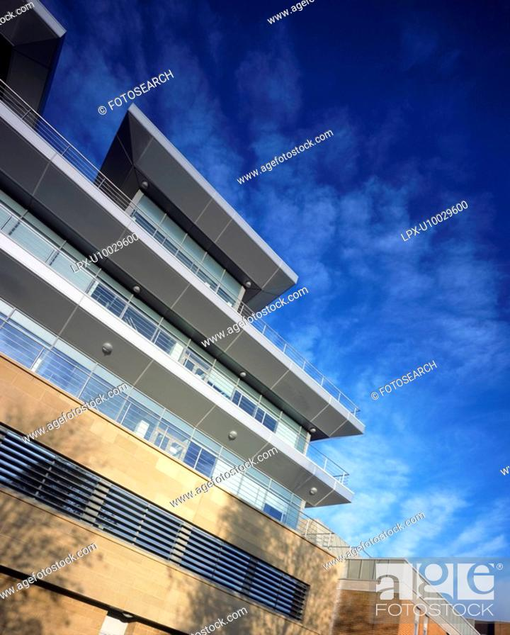 Stock Photo: Research Facility at Alderley Park, Cheshire.