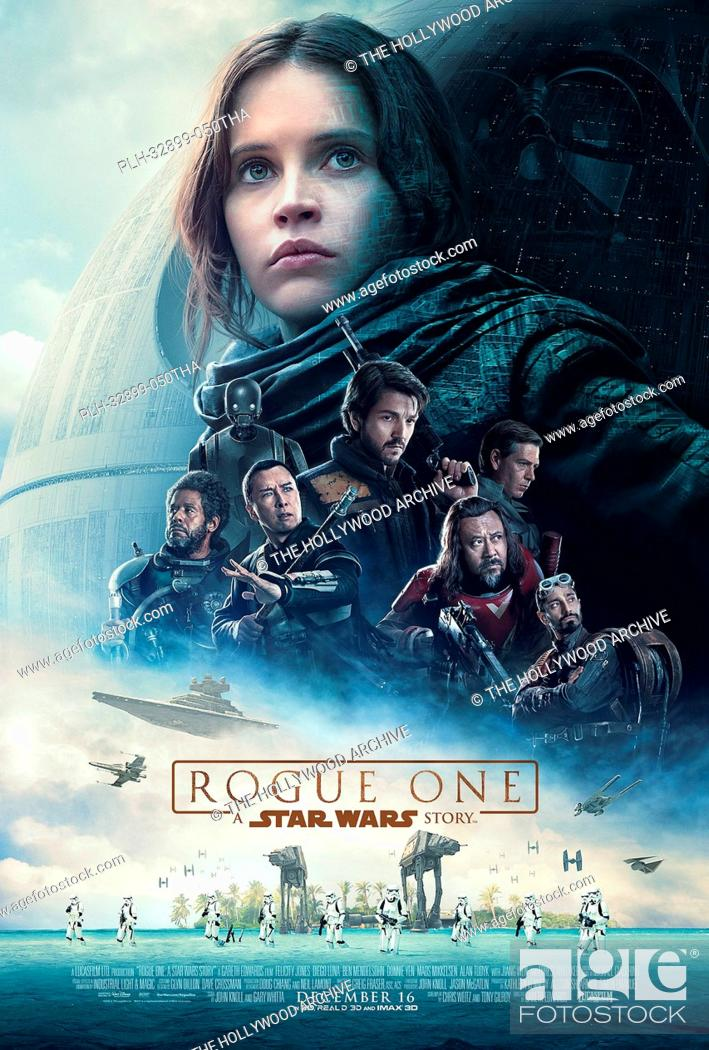Stock Photo: Rogue One: A Star Wars Story (2016) Poster.