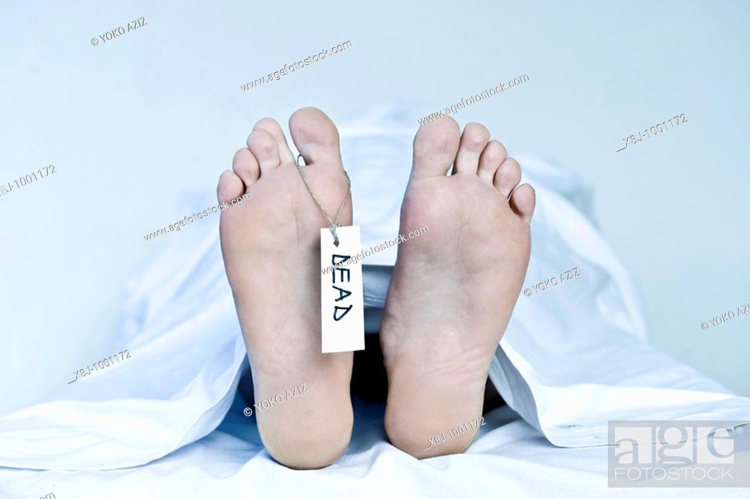 Stock Photo: Corpse.
