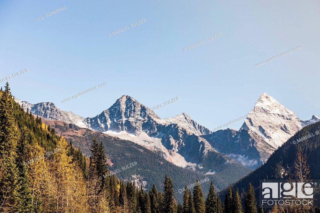 Imagen: Canadian Rockies, Golden, British Columbia, Canada.