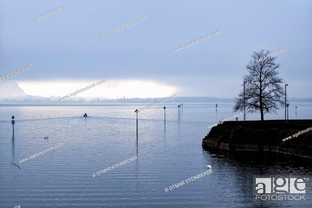 Stock Photo: Lindau, winter day.