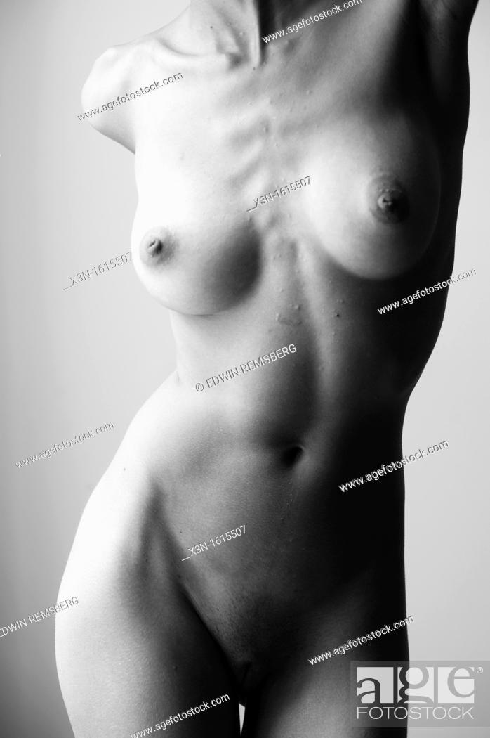 Stock Photo: Nude female figure.