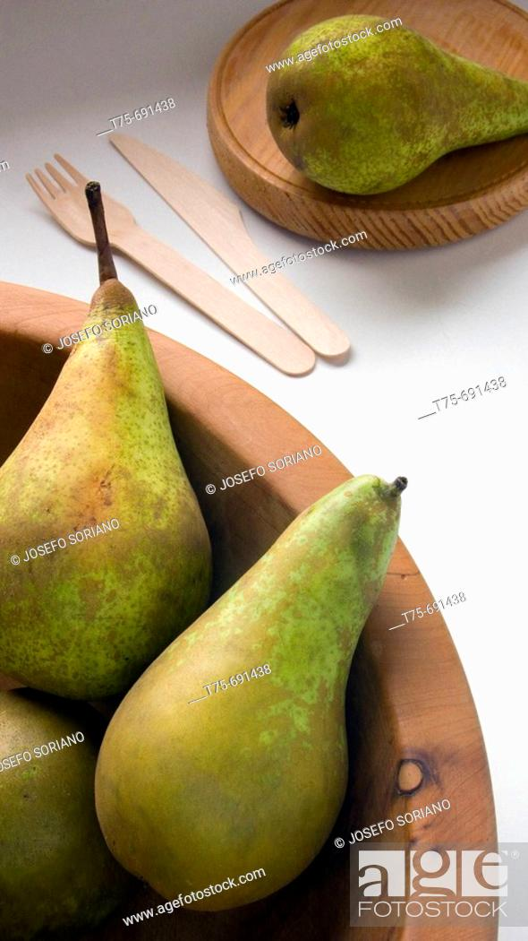 Stock Photo: 'Conference' pears.