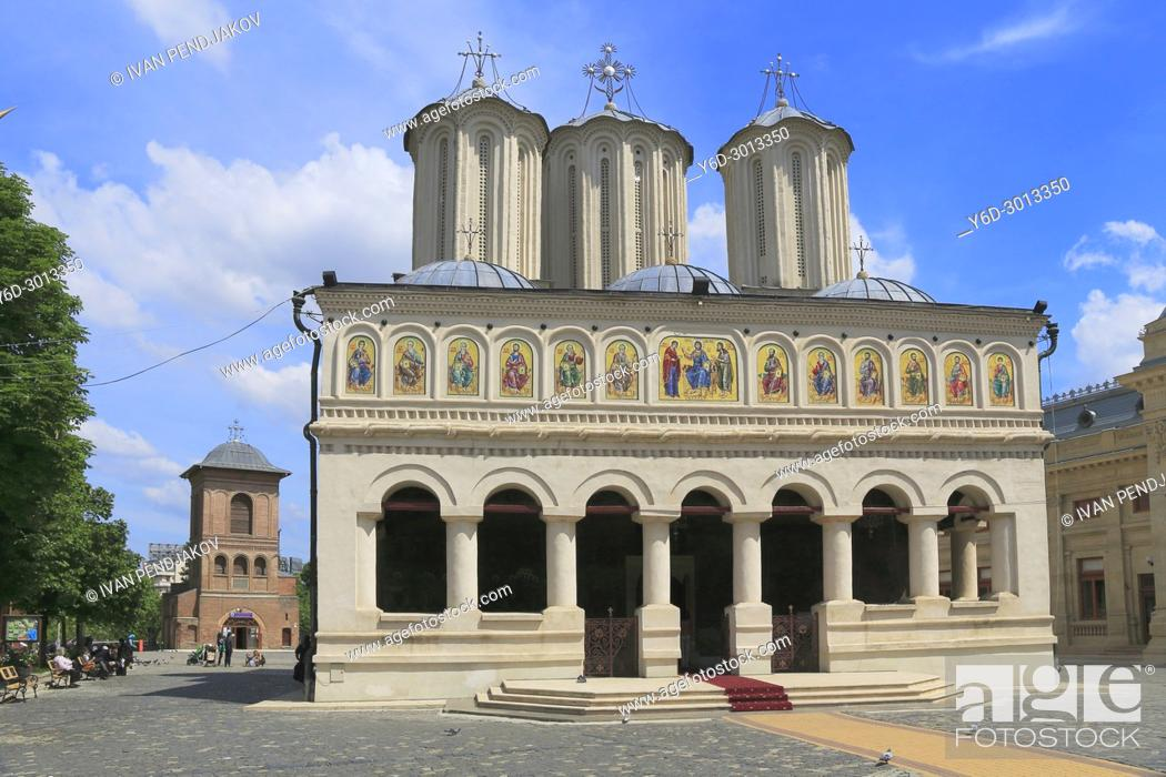 Imagen: The Patriarchal Cathedral and the Bell Tower, Bucharest, Romania.