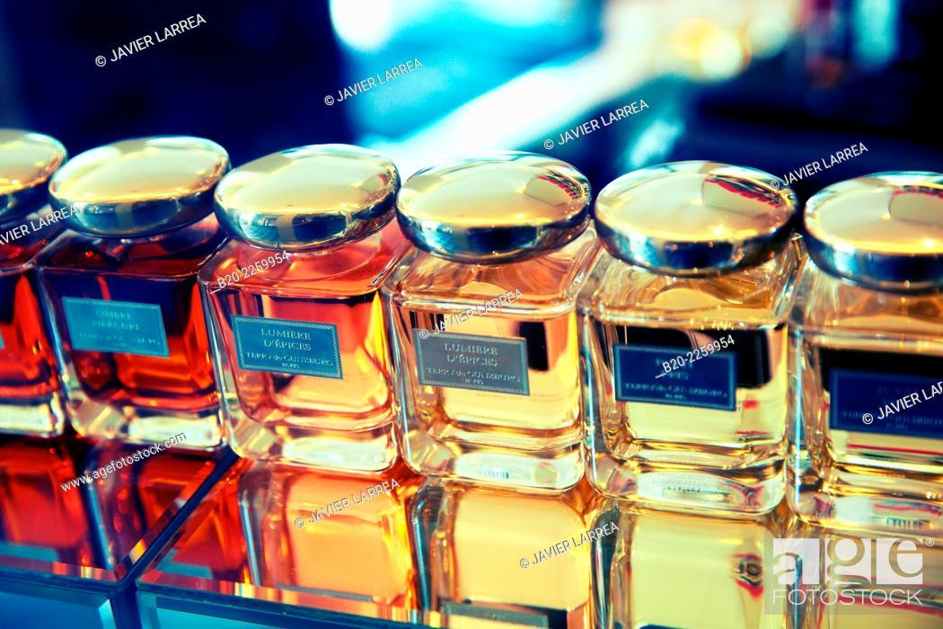 Stock Photo: Perfume. Galerie Véro Dodat. Paris. France.