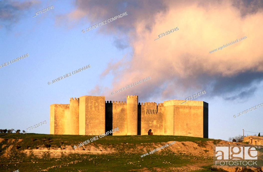 Stock Photo: Montealegre Castle. Valladolid province. Castilla y León. Spain.