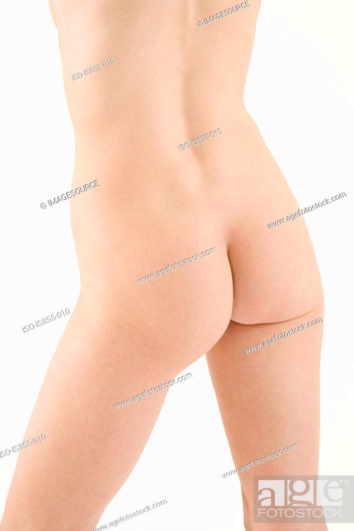 Stock Photo: Rear view of naked woman.