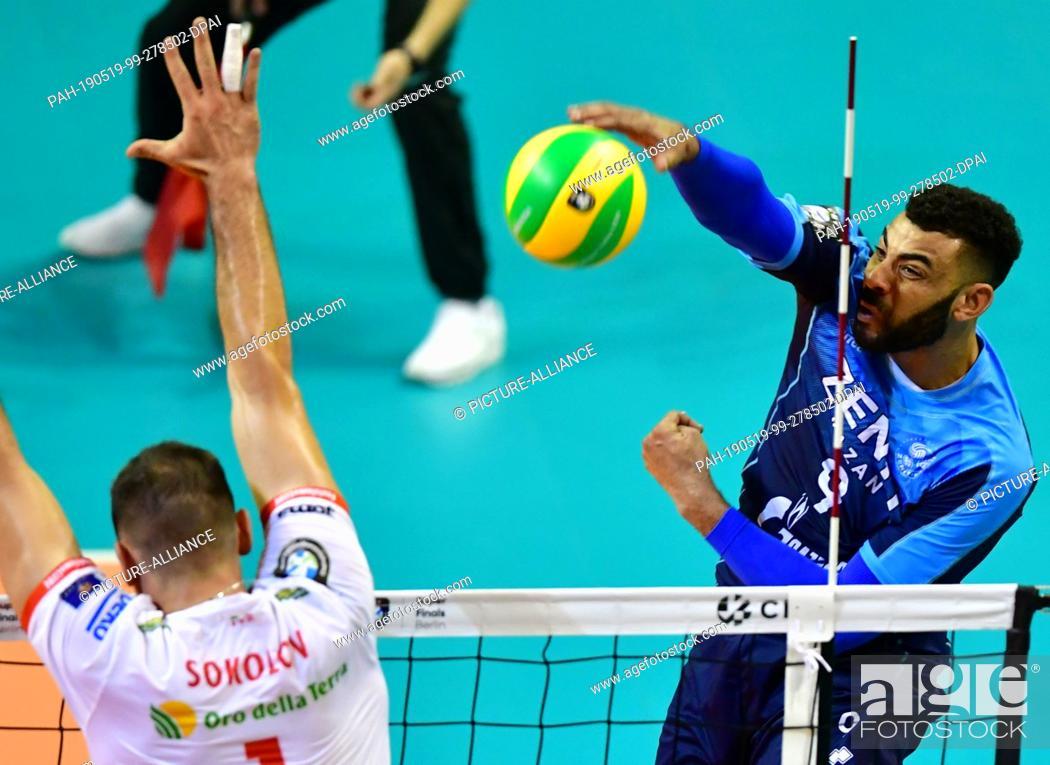 18 May 2019 Berlin Volleyball Men Champions League Zenit Kazan Cucine Lube Civitanova Stock Photo Picture And Rights Managed Image Pic Pah 190519 99 278502 Dpai Agefotostock