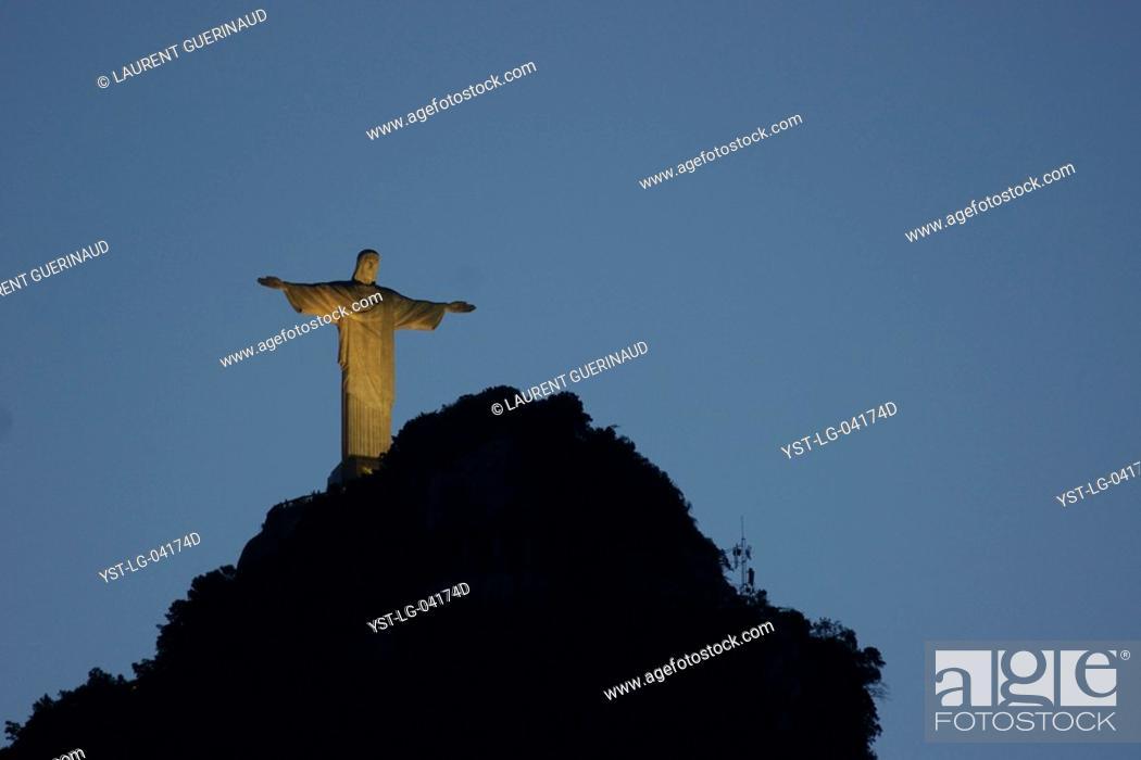 Cristo Redentor Rio De Janeiro Brazil Stock Photo Picture And