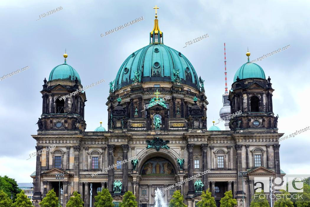 Stock Photo: Berlin Cathedral Church, Berlin, Germany.