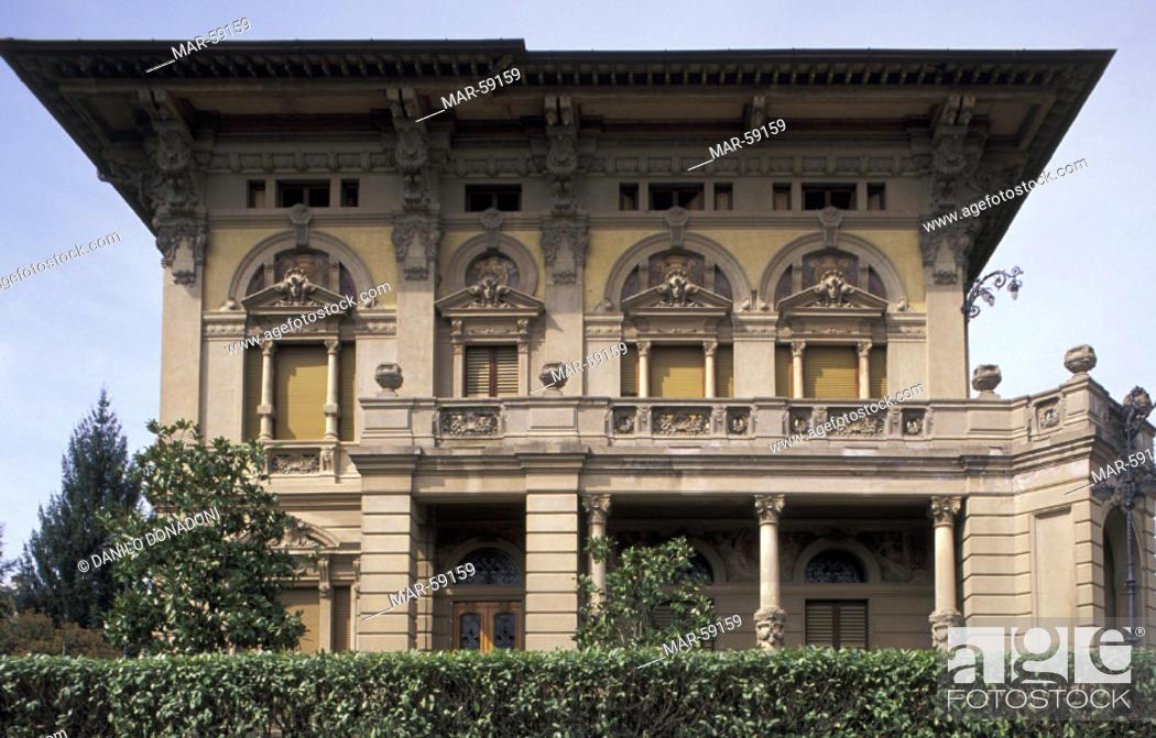 Stock Photo - masini palace, montevarchi, italy