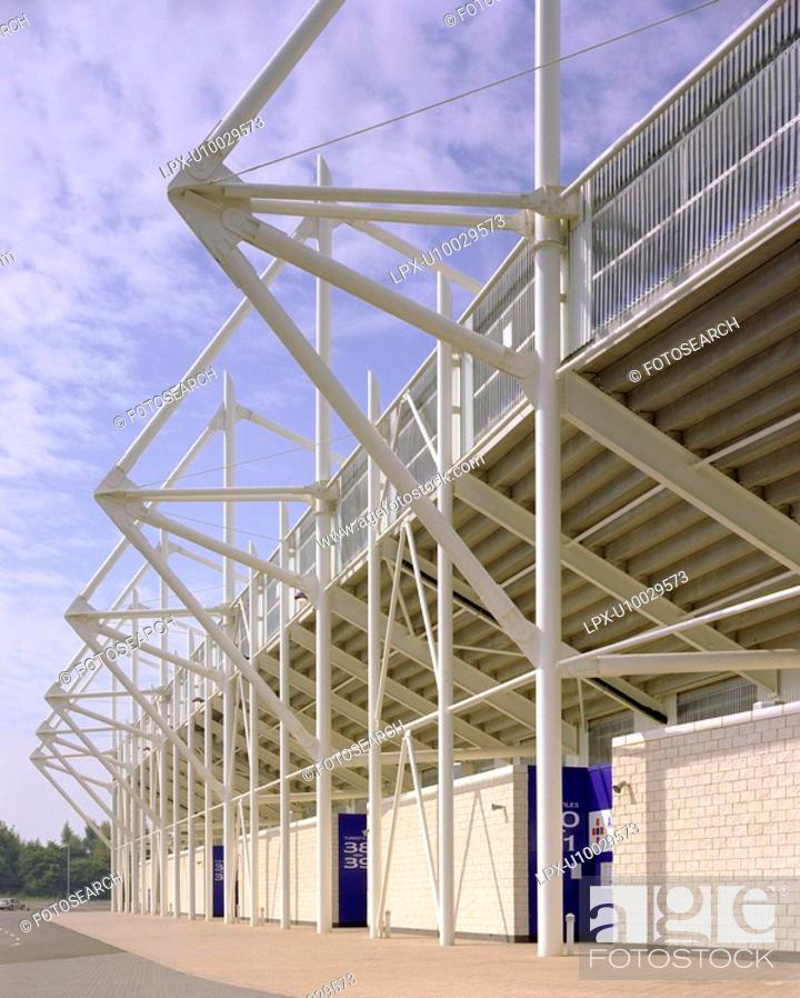 Stock Photo: Leicester City Football Stadium. Leicester.