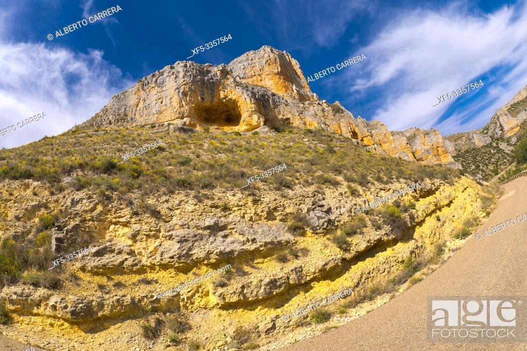 Imagen: Hoces de Río Riaza Natural Park, Riaza River Gorges, Segovia, Castilla y León, Spain, Europe.