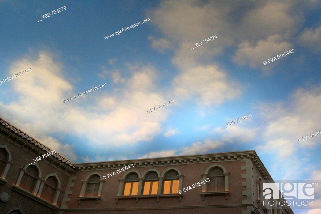 Stock Photo: The Venetian Theme Hotel. Las Vegas. Nevada. USA.