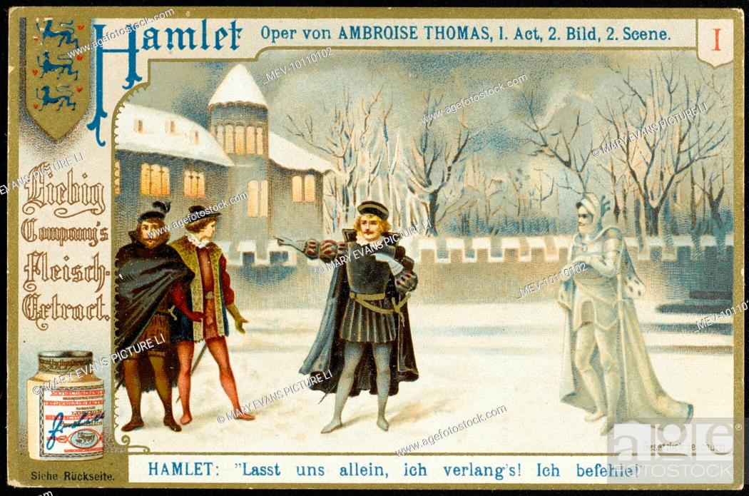 Act 1 scene 2 : Hamlet asks his companions to leave him