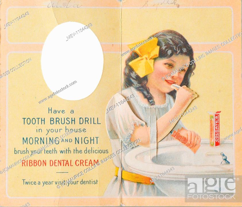 Products - Colgate Ribbon Dental Cream, Stock Photo, Picture And