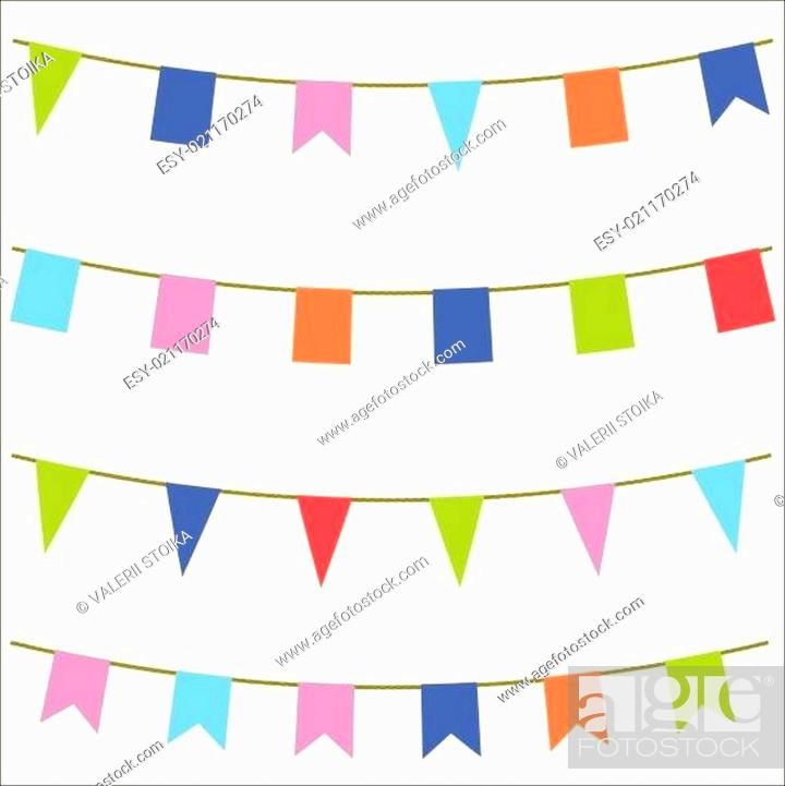 Stock Vector: flags.