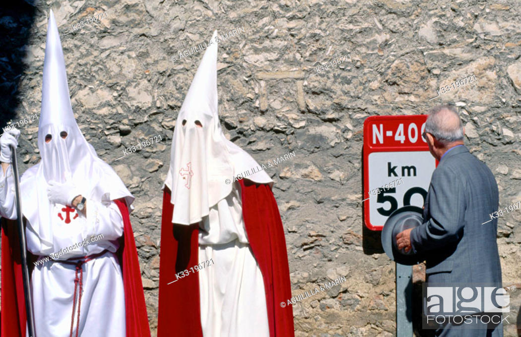 Stock Photo: Holy Week. Ocaña. Toledo province. Spain.