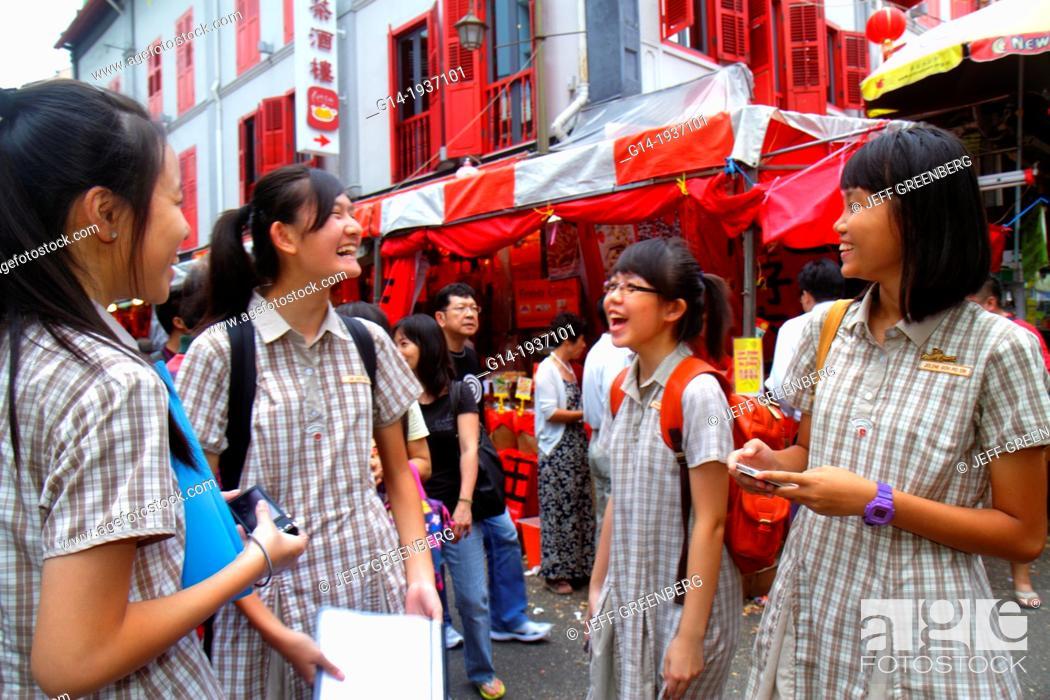 Have asian teen school girls