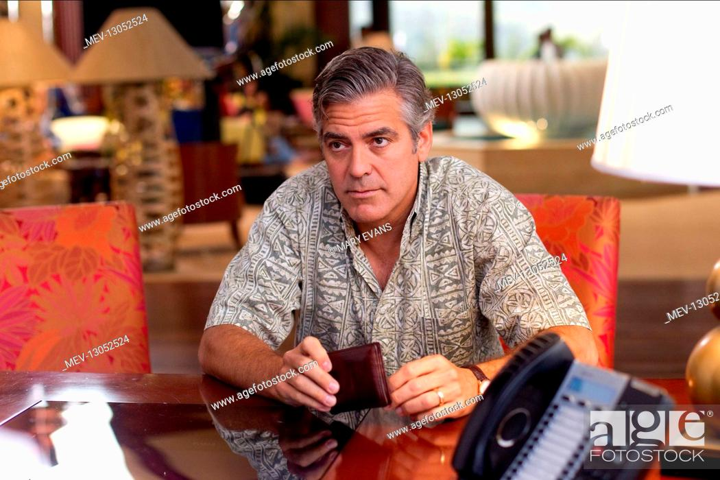 Stock Photo: George Clooney Characters: Matt King Film: The Descendants (USA 2011) Director: Alexander Payne 02 September 2011.