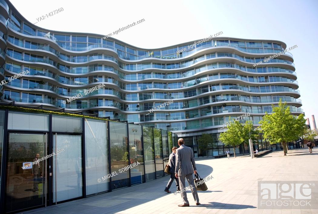 Imagen: Albion Riverside Apartments designed by Norman Foster.