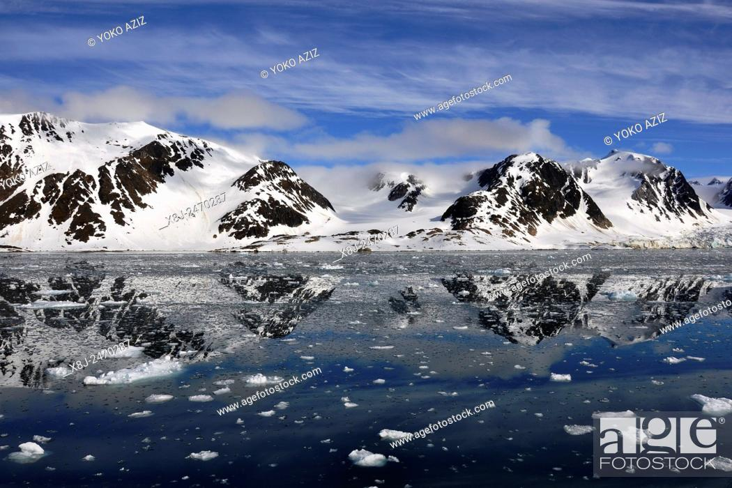 Stock Photo: Norway, Svalbard islands, Spitsbergen island.