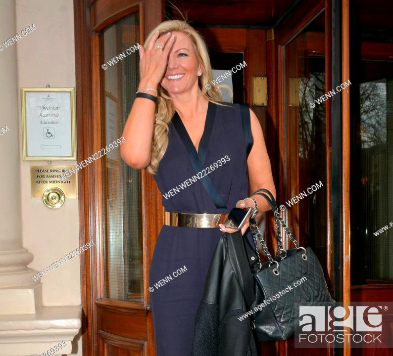 ff0d16abb9 Stock Photo - Founder of Ultimo Lingerie Michelle Mone OBE spotted at The  Shelbourne Hotel