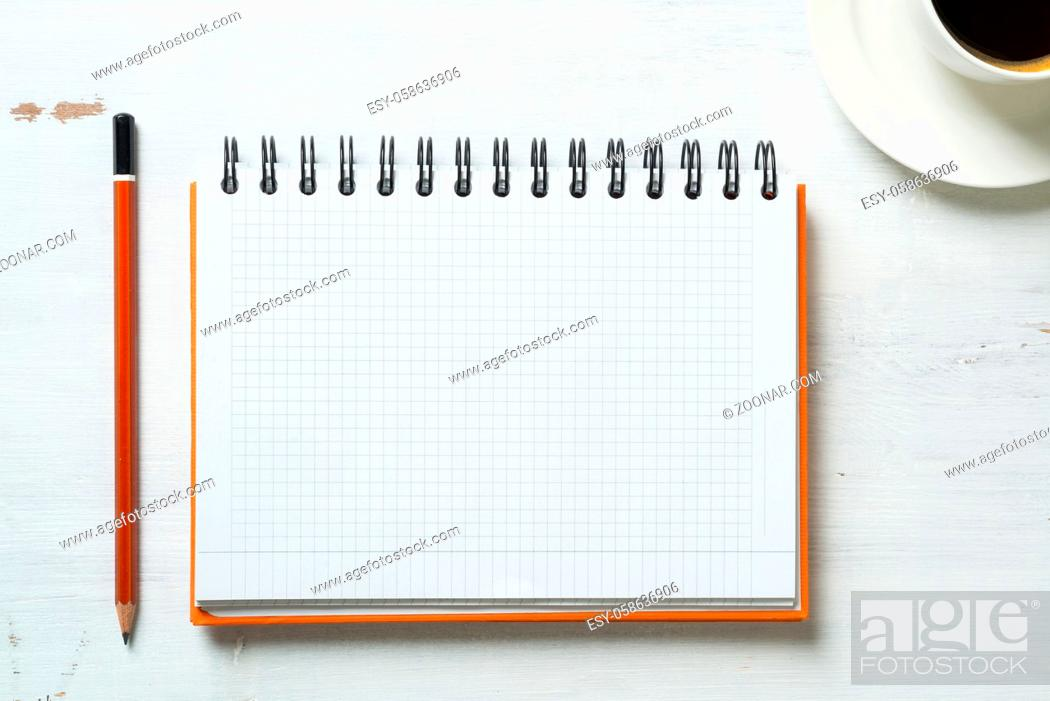 Stock Photo: Business still life concept with office stuff on table.