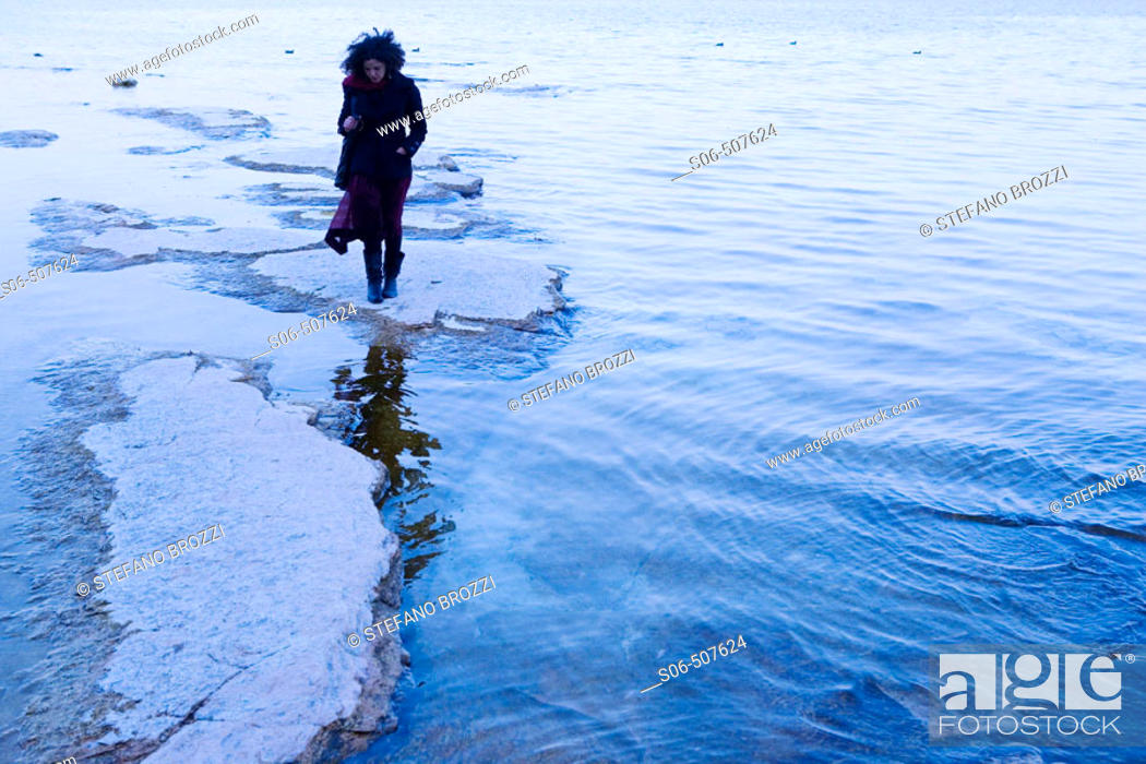 Stock Photo: Sirmione, Garda Lake, Italy.