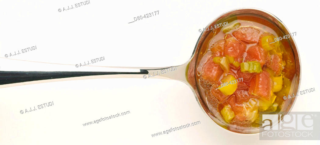 Stock Photo: Hot vinaigrette sauce.