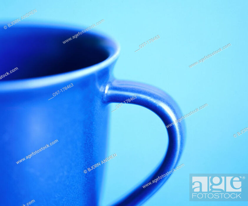 Stock Photo: Cup close-up.