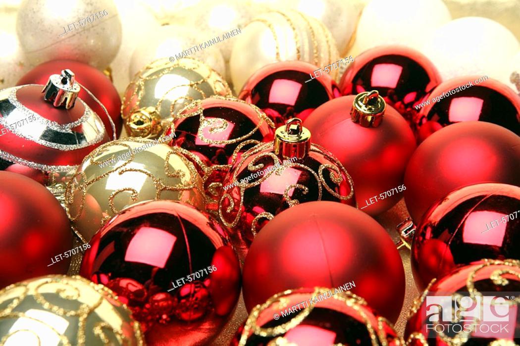 Finland Christmas Decorations.Christmas Decorations Helsinki Finland Stock Photo