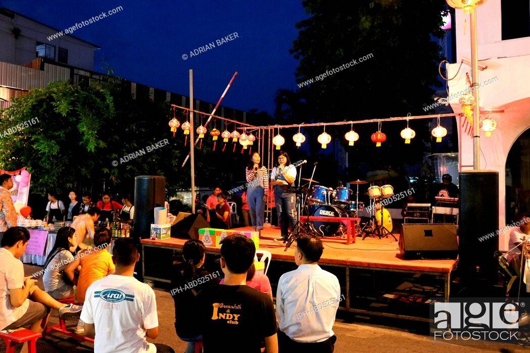 Imagen: Thailand Phuket Phuket Town Chinese New Year 2016.